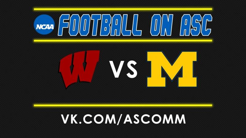 NCAAF | Wisconsin VS Michigan
