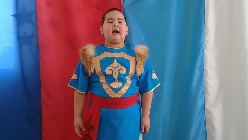 Читаем М. Карима: Батталов Динислам, 6 лет.