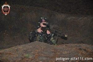 Ребенок снайпер