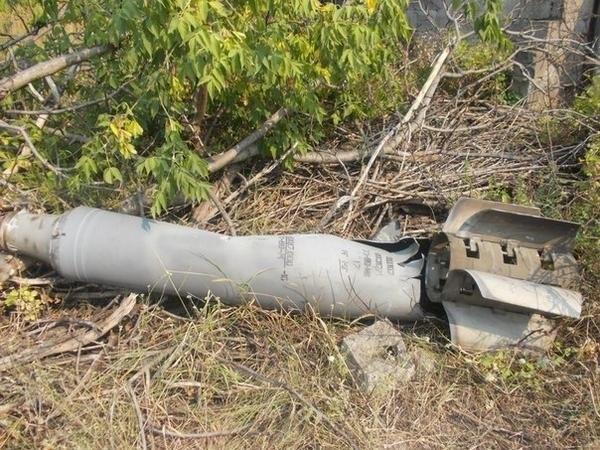 Под Таганрогом снова найдены снаряды «Смерч» и «Град», прилетевшие с Украины