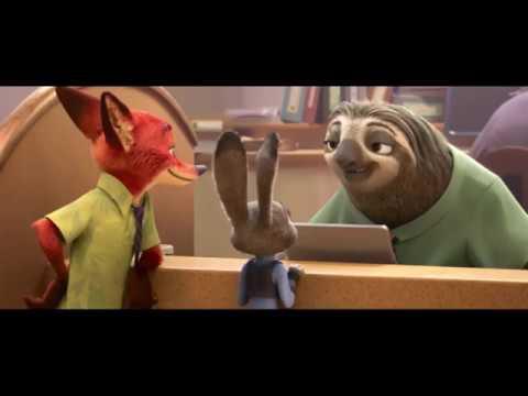 Отрывок из мультфильма «Зверополис»