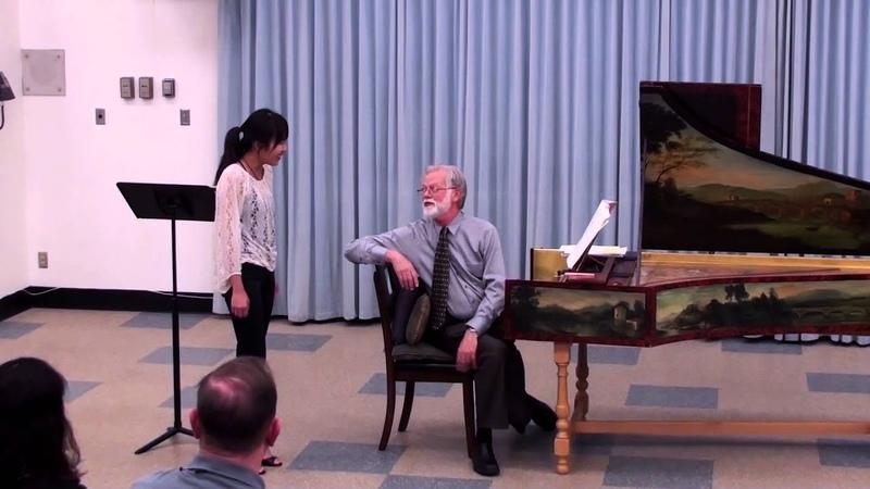 Harpsicord Lecture, Master Class Recital with John Metz 5-4-14