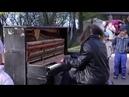 Душевное исполнение уличного музыканта