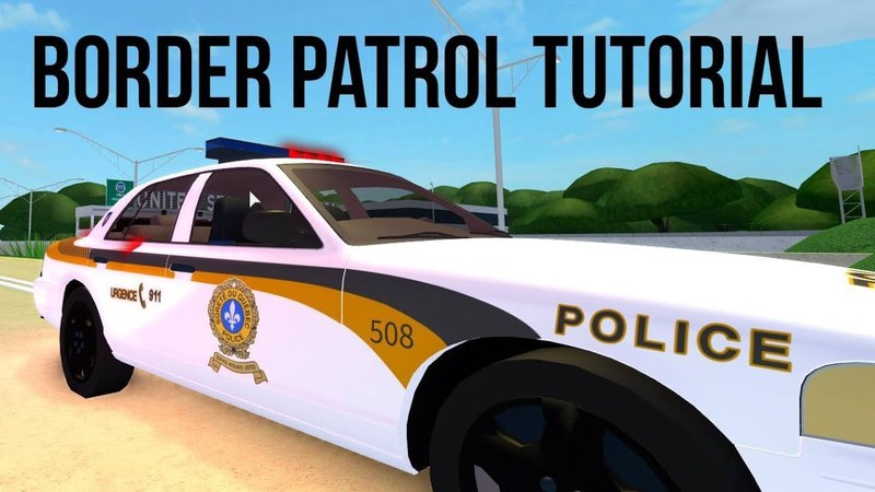 BORDER PATROL TUTORIAL! | UD Police Academy EP 7