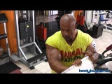 2012 Mr. Olympia - Michael Kefalianos Training Quads & Calves 4 Weeks Out