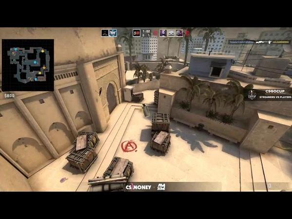 Streamers vs Players | ceh9team vs DNEXT
