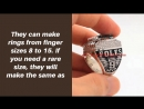 Authentic Super Bowl Rings for Sale, Custom Replica Championship Rings