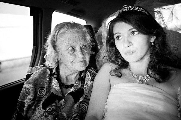 бабка застукала внучку с парнем