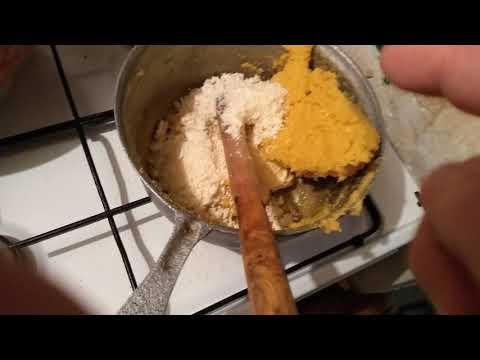 Mămăligă cu brânza de oaie