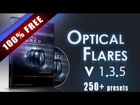 Optical Flare V 1.3.5 for After Efect CS6,CC 2015, 2017 250 Optical flares preset (Update)