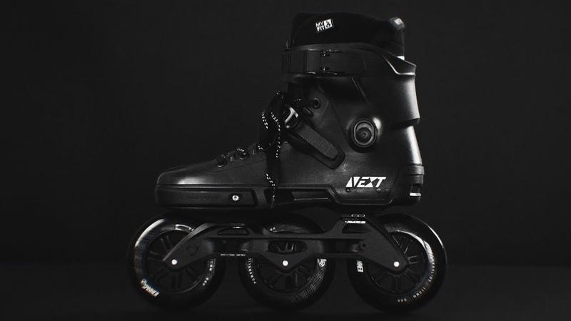 Powerslide NEXT 110 BLACKOUT urban inline skate