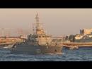 Военные моряки готовятся к Военно-Морскому параду в Петербурге