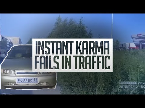 INSTANT Karma Fails In Traffic INSTANT Justice Compilation 2018
