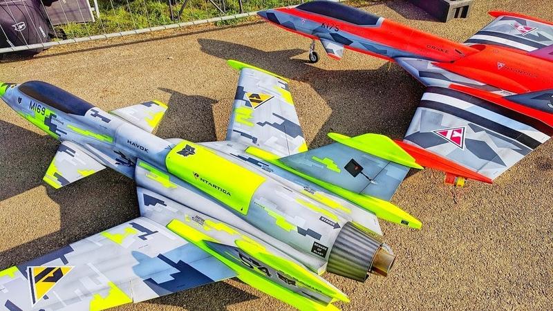 NEW SAB RC TURBINE JETS HAVOK DRAKE AWESOME FLIGHT DEMONSTRATION | JET POWER 2018