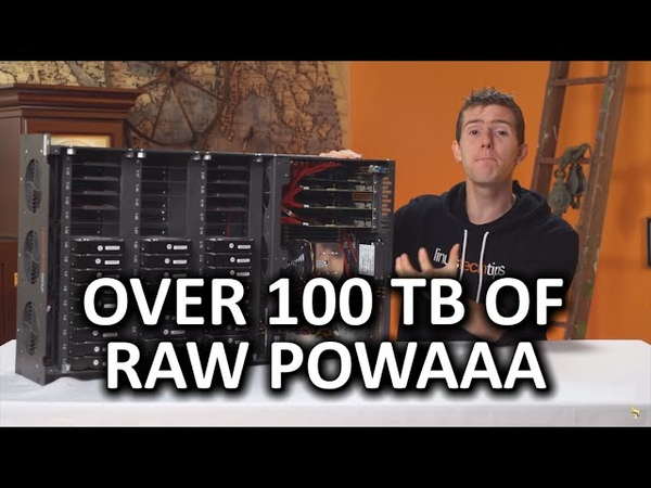 100TB at over 1GBs - The Storinator is back!