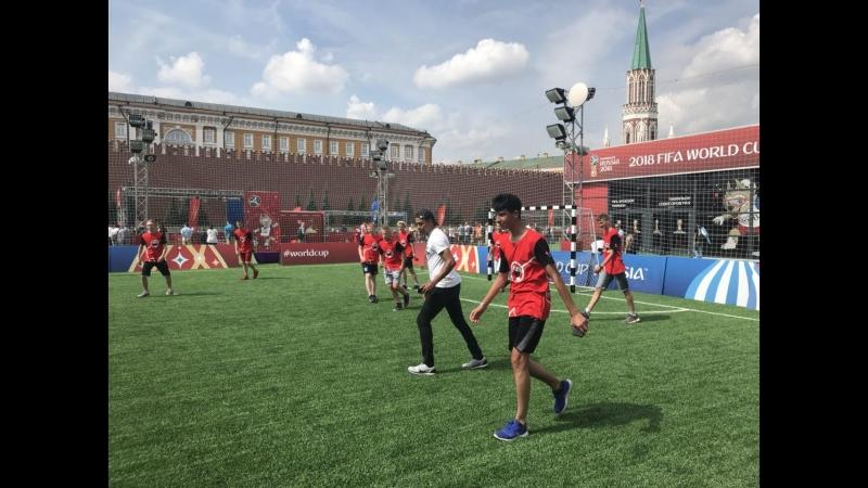 Жилберту Силва провел мастер-класс на Красной площади