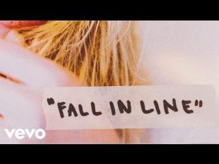 премьера Christina Aguilera - Fall In Line (Lyric Video) ft. Demi Lovato новая песня