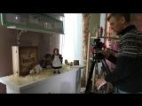 Бэкстейдж со съёмок для ролика Сарапула по  дополненной реальности