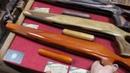 Новые удобные и красивые ложи для СКС и ВПО 208 из цветного шпона отборного ореха и бука