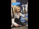 Сабрина в студии радиостанции «B96» | 18 июля 2018 › Чикаго, Иллинойс