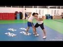 Wushu SanDa - Training Heidelberg basic stand up grappling- and throwing exercise 2