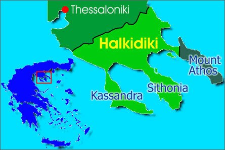 Греция: Халкидики