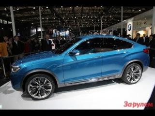 BMW X4 купе-кроссовер 2014