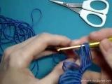 МК Вязание на линейке крючком