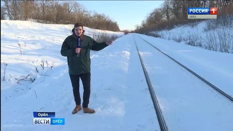 Орловцы придумывают себе экстремальный зимний отдых
