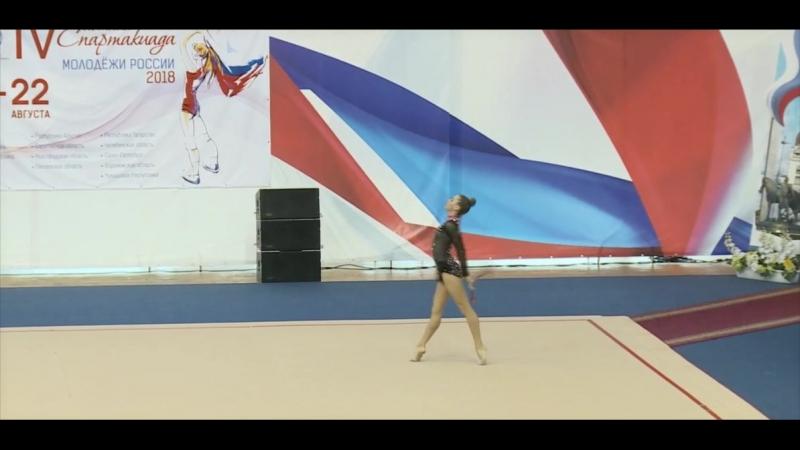 Дарья Зайцева - Булавы 17.350(8) КМ