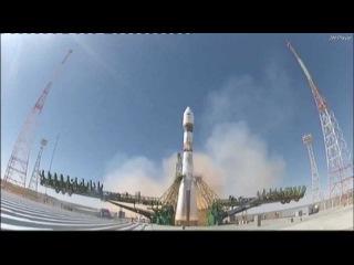 Запуск ракеты «Союз» с космическим аппаратом «Бион-М» (HD)