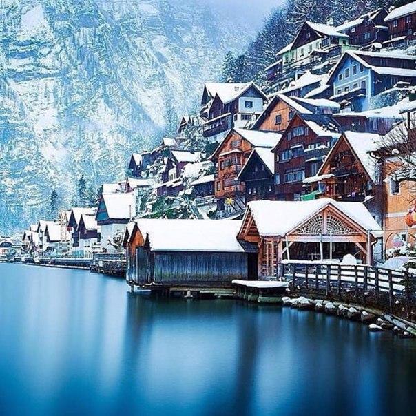 Зимний Гальштат. Австрия