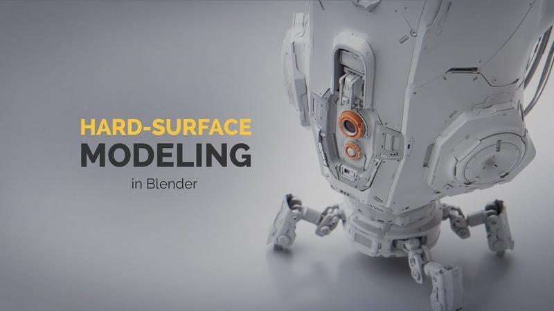 Hard Surface Modeling in Blender | Intro Promo