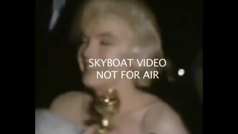 Мэрилин Монро получила премию Золотой глобус, 1960 год.