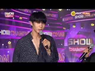 180815 Leo (VIXX) Interview @ MBC Show Champion