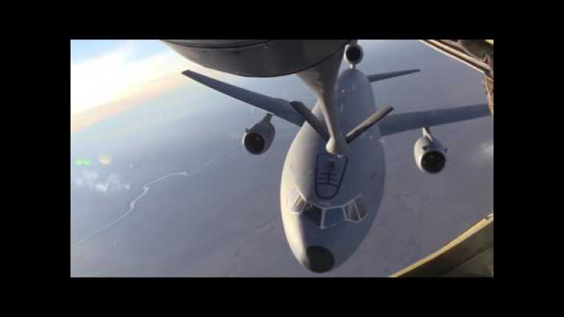 US New Weapons 2017 - Even Aerial Refueling Tanker Need to be Air-Refueled(KC-135 KC-10)