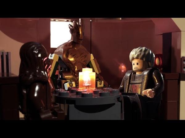 LEGO Groot Hodor and Chewbacca No One Understands