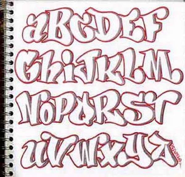 Fontes De Letras Grafite Para Baixar