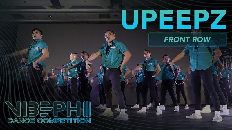 [3rd Place] UPeepz | VIBE PH III [@AyelMari Front Row 4K] | VIBEPH | Danceproject.info