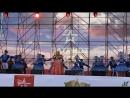 Надежда Кадышева с ансамблем Ой, полна, полна моя коробушка, Есть и ситец, и парча. 17.06.2017 на концерте в Парке Патриот