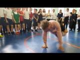 Брейкданс в фитнес клубе Амазонка - Рома чемпион Москвы и МО