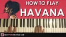 HOW TO PLAY - Camila Cabello - Havana ft. Young Thug (Piano Tutorial Lesson)