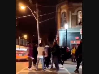 A$AP Rocky и Playboi Carti подрались с бандой в Торонто [Рифмы и Панчи]