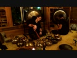 Сергей Сергиевский и Денис Барышников. Концерт с гонгами и тибетскими поющими чашами
