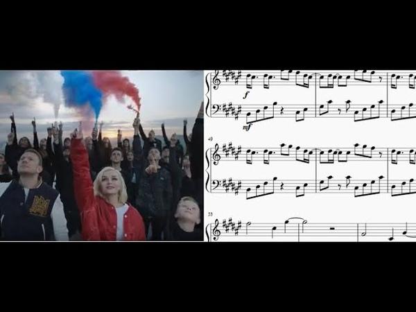 Polina Gagarina y Egor Creed - Equipo 2018 - Piano arrangement