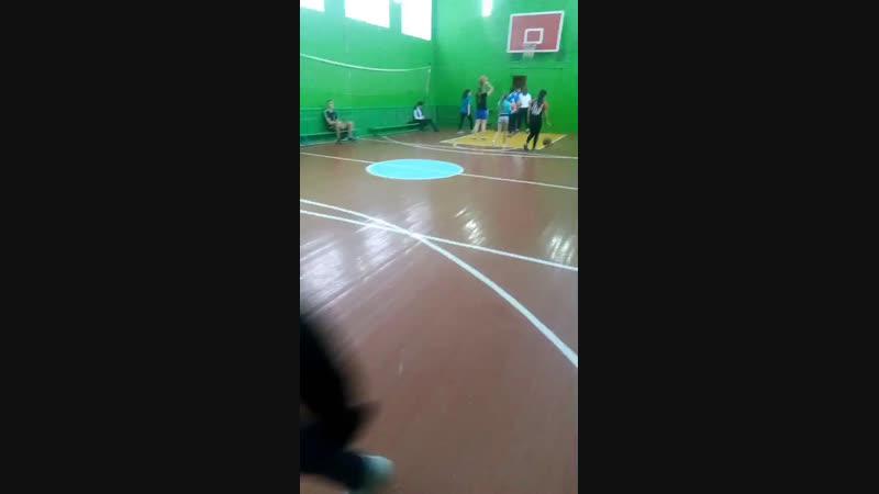 соревнования по баскетболу:девочки
