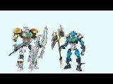 Обзор на Лего Бионикл Gali Master of Water и Kopaka Master of Ice