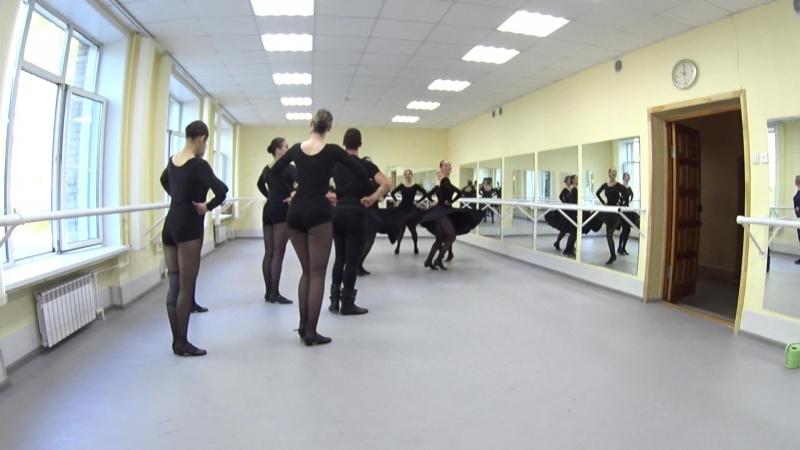 Показ. Народно-сценический танец. 2-й семестр. Часть 13