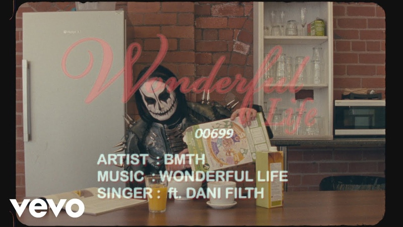Bring Me The Horizon wonderful life Lyric Video ft Dani Filth