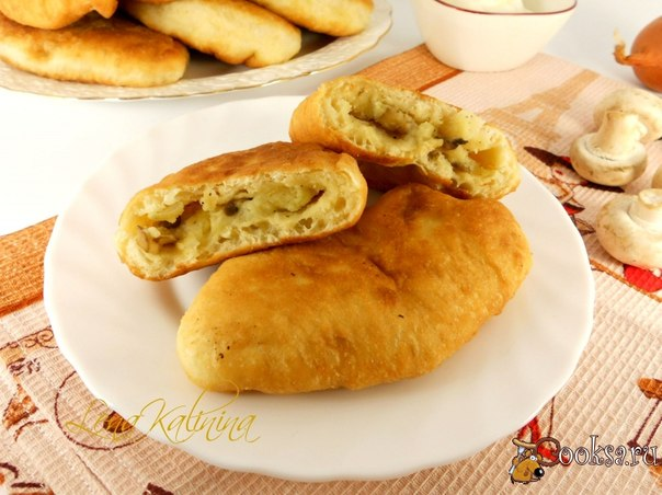 This recipe of the test for me opening! Dough is ready boiled water, it is not necessary to wait for rise and it is necessary to fry pies at once after a batch. Pirozhochka magnificent and very tasty turn out!